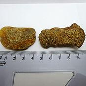 Материалы для творчества handmade. Livemaster - original item 2 pieces of natural Baltic amber. Handmade.