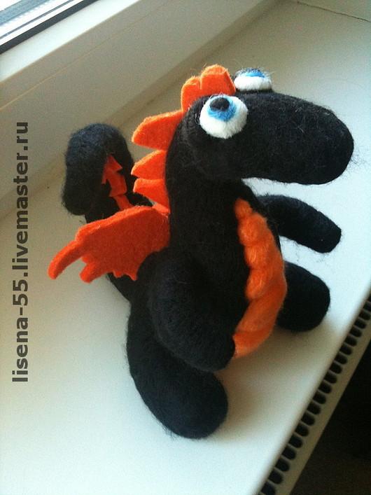 Fairy-Tale Dolls handmade. Livemaster - handmade. Buy Dragon Osia.Dragon, souvenir, animal, felt