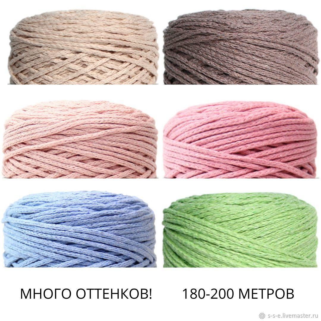 Шнур для макраме, Шнуры, Новосибирск,  Фото №1