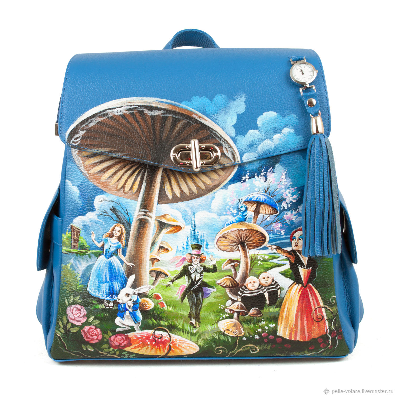 Women's backpack ' in the footsteps of Alice', Backpacks, St. Petersburg,  Фото №1