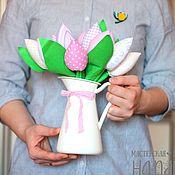 Куклы и игрушки ручной работы. Ярмарка Мастеров - ручная работа Тюльпаны. Handmade.