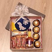 Подарки к праздникам ручной работы. Ярмарка Мастеров - ручная работа Сладкий подарок на Новый год. Handmade.