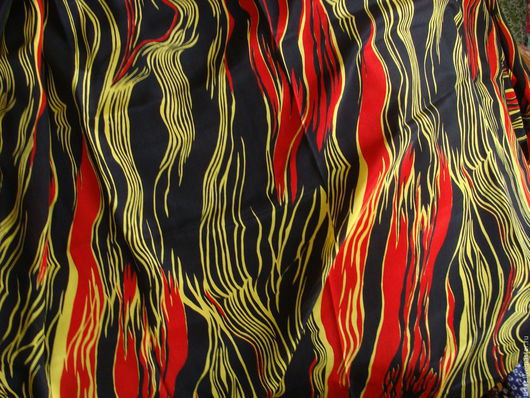 Шитье ручной работы. Ярмарка Мастеров - ручная работа. Купить Натуральный шелк, винтаж, 355 х 93 см.. Handmade.