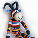 Animal Toys handmade. Livemaster - handmade. Buy Capricorn Zебровидный.Crochet, author toy, the symbol of 2015
