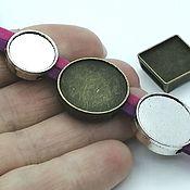 Материалы для творчества handmade. Livemaster - original item Setting base for the bracelet, 10-25 mm. Art.OB45. Handmade.