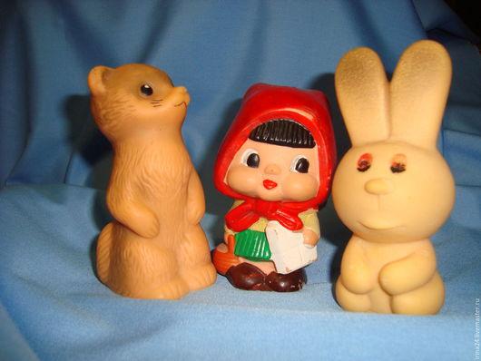 Винтажные куклы и игрушки. Ярмарка Мастеров - ручная работа. Купить Резиновые игрушки, игрушки СССР. Handmade. Игрушка, игрушка винтаж