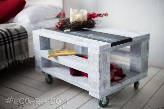 Мебель ручной работы. Ярмарка Мастеров - ручная работа. Купить Стилизованный столик Еlegance Loft. Handmade. Лофт, мебель из дерева