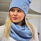 Аксессуары handmade. Livemaster - original item A set of knitted