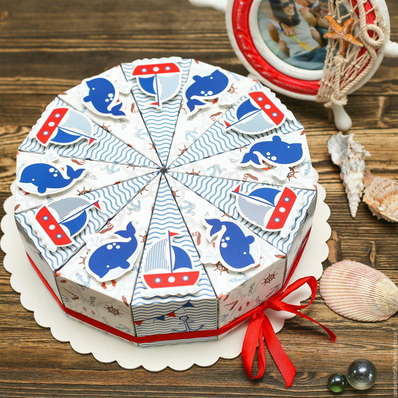 Торт подарок картон своими руками фото 483
