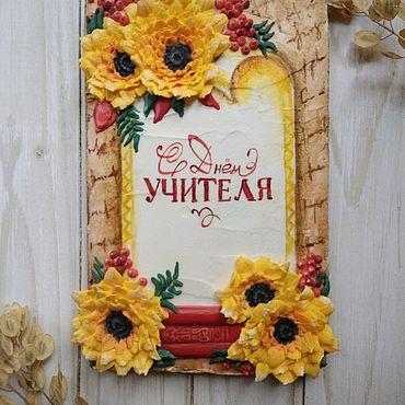 Сувениры и подарки ручной работы. Ярмарка Мастеров - ручная работа Пряничная открытка. Handmade.