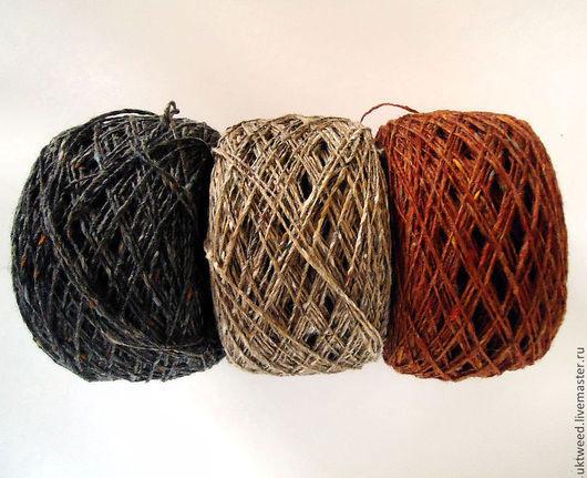 Вязание ручной работы. Ярмарка Мастеров - ручная работа. Купить Soft Donegal Tweed -100% меринос. Handmade. Мериносовая шерсть