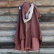 Skirts handmade. Livemaster - original item No. 196 Boho skirt linen. Handmade.