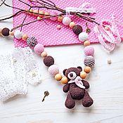 Одежда handmade. Livemaster - original item Slingobusy with the toy