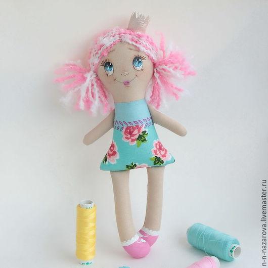 Сказочные персонажи ручной работы. Ярмарка Мастеров - ручная работа. Купить Принцесса Полинка (22 см). Handmade. Принцесса, кукла