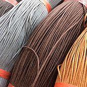 Материалы для творчества ручной работы. Ярмарка Мастеров - ручная работа Шнур вощеный 1.5 мм, 5 цветов. Handmade.