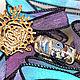 Кулоны, подвески ручной работы. Ярмарка Мастеров - ручная работа. Купить Ключик РЫБА - коллекция СКАЗОЧНЫЕ КЛЮЧИКИ. Handmade. латунь