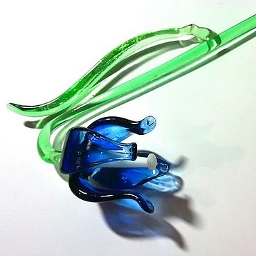 Flowers and floristry handmade. Livemaster - original item Glass flower bell as a gift. Handmade.