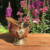 Винтаж handmade. Livemaster - original item Vintage copper - brass miniature pots, ashtray, Holland.. Handmade.