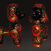 Куклы и игрушки ручной работы. Ярмарка Мастеров - ручная работа Пудель.. Handmade.