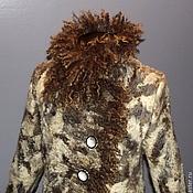 """Одежда ручной работы. Ярмарка Мастеров - ручная работа Пальто валяное """"Песнь ветров""""-индивидуальный заказ. Handmade."""