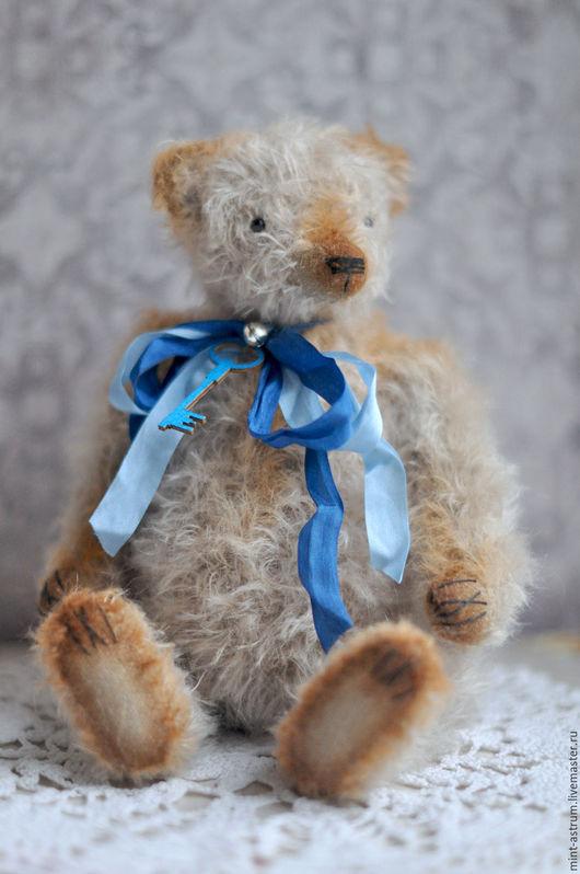 Мишки Тедди ручной работы. Ярмарка Мастеров - ручная работа. Купить Милтон. Handmade. Серый, подарок на любой случай