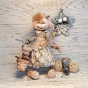 Куклы и игрушки handmade. Livemaster - original item NEW YEAR. Textile doll,interior,