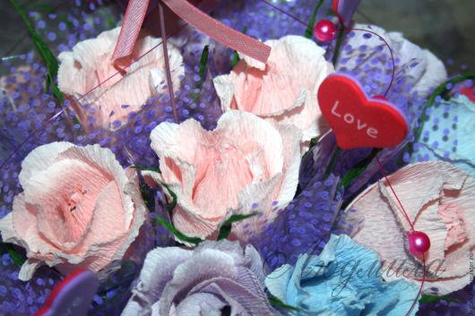 `С тобой` Букет из конфет 15 конфет Марсианка
