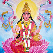Картины и панно handmade. Livemaster - original item Pictures: Lakshmi oil Painting. Handmade.