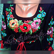 Одежда handmade. Livemaster - original item Dress-vyshivanka