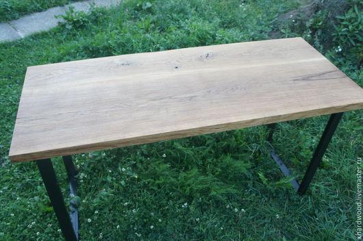 Мебель ручной работы. Ярмарка Мастеров - ручная работа. Купить стол письменный. Handmade. Коричневый, массив дуба