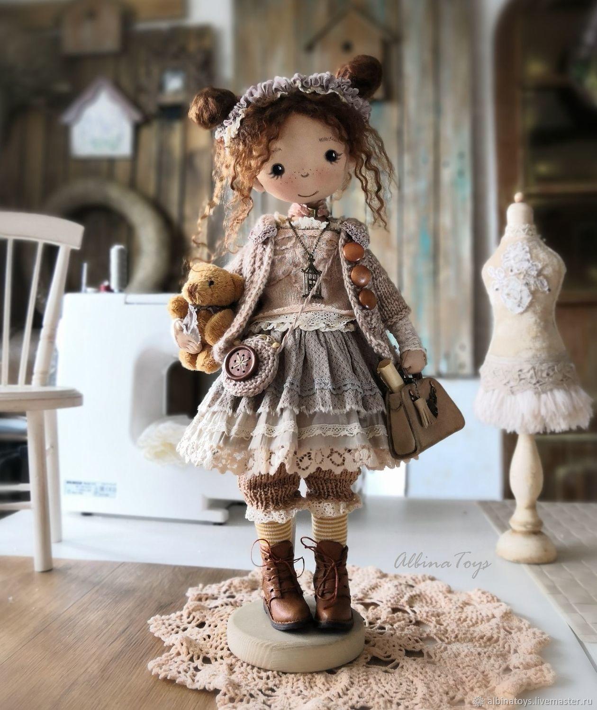 Текстильная кукла Иделия. Бохо стиль.По мотивам, Куклы, Казань, Фото №1