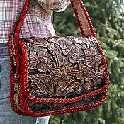 Сумки и аксессуары handmade. Livemaster - original item Women`s leather bag