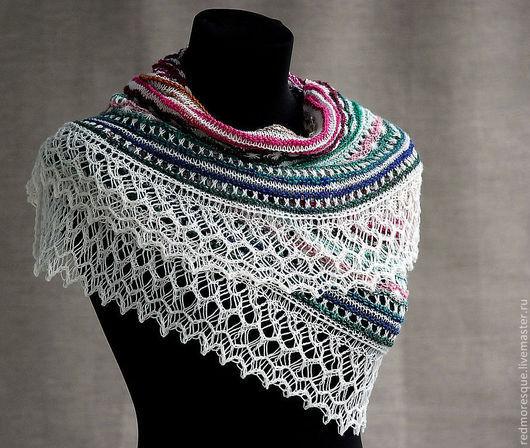 """Шали, палантины ручной работы. Ярмарка Мастеров - ручная работа. Купить Шаль """"Antique lace"""". Handmade. Шаль, дорогой подарок"""