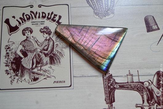 Для украшений ручной работы. Ярмарка Мастеров - ручная работа. Купить Лабрадорит спектролит. Кабошон 60 Х 45 Х 7,5. Handmade.