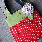 Джинсовая сумка для детей