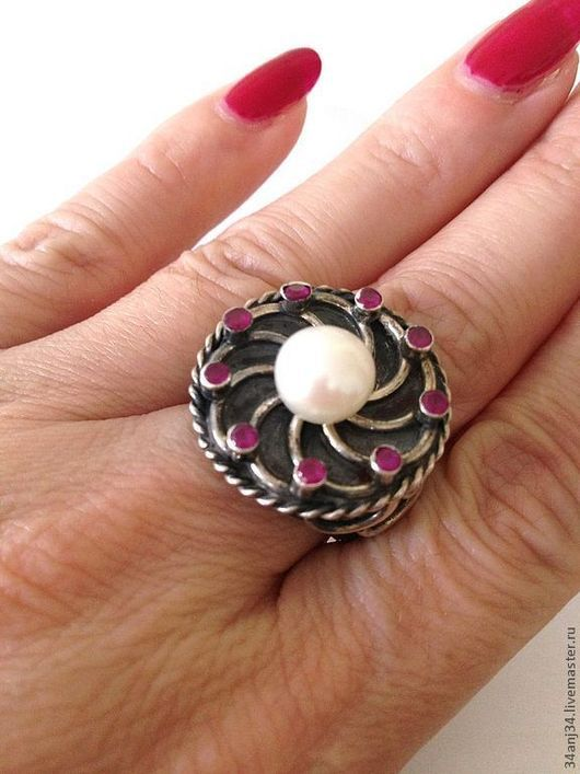 """Кольца ручной работы. Ярмарка Мастеров - ручная работа. Купить Кольцо """" Фортуна """". Handmade. Серебряное кольцо"""