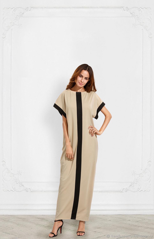 b3a33040714d Большие размеры ручной работы. Ярмарка Мастеров - ручная работа. Купить Модное  платье свободного силуэта ...