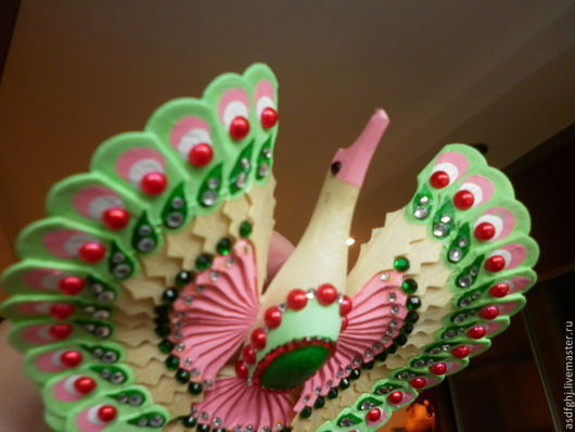 """Персональные подарки ручной работы. Ярмарка Мастеров - ручная работа. Купить Подарок универсальный птица счастья """"Лето красное"""". Handmade."""