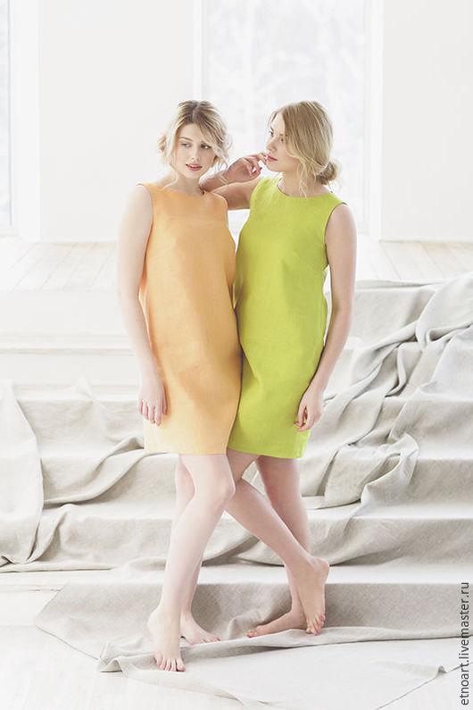 Персиковый и светло-зеленый цвета