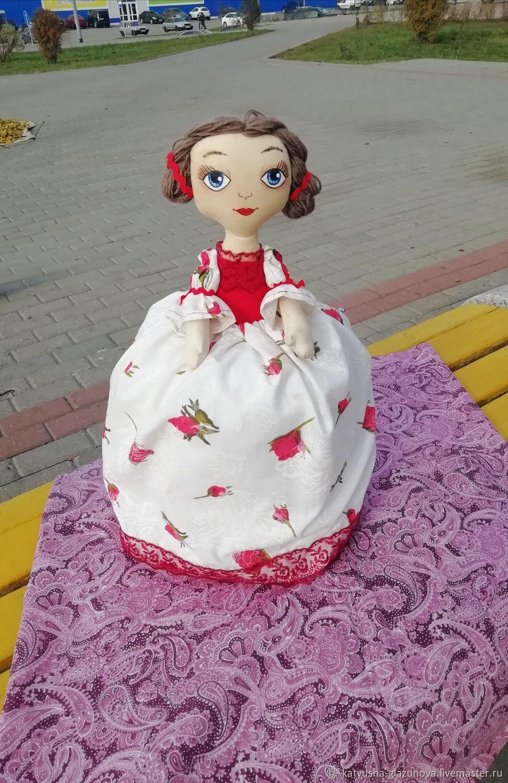 Кукла-грелка на чайник, , Тамбов,  Фото №1