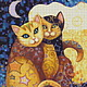 Kit embroidery with beads 'Moonlight'. Creator\'s Kit. Beaded embroidery from Laura. Online shopping on My Livemaster.  Фото №2