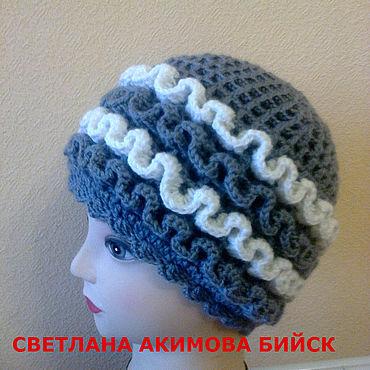 Одежда ручной работы. Ярмарка Мастеров - ручная работа Шапка женская . шапка зимняя. Handmade.