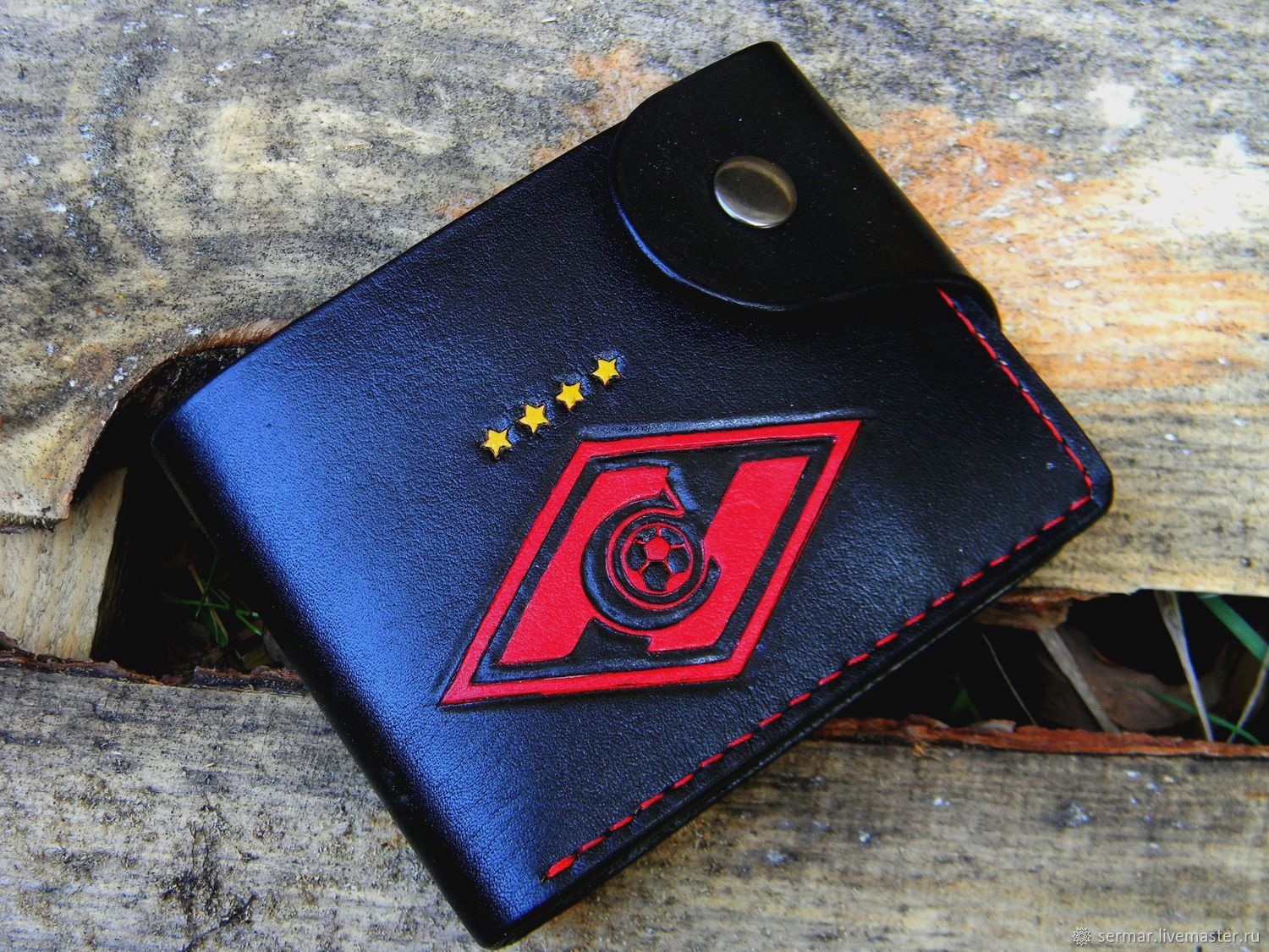 Wallet with the logo of FC 'Spartak', Wallets, Kineshma,  Фото №1