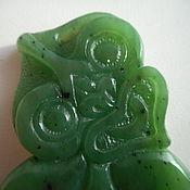 Фен-шуй и эзотерика ручной работы. Ярмарка Мастеров - ручная работа Тики. Амулет маори из нефрита. Handmade.