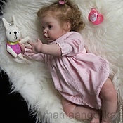 Куклы Reborn ручной работы. Ярмарка Мастеров - ручная работа кукла реборн Ксюшка (молд Шанель). Handmade.