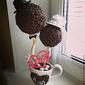 """Цветы и флористика ручной работы. Ярмарка Мастеров - ручная работа Кофейное деревце """"Любовь""""!!!. Handmade."""
