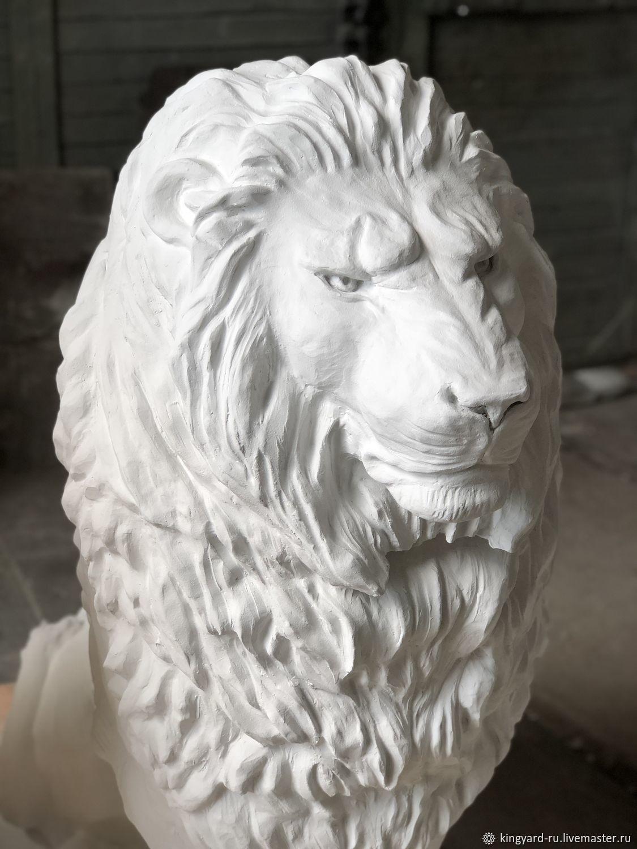 лев из бетона москва