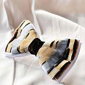 Аксессуары handmade. Livemaster - original item Bow tie with pheasant feathers. Handmade.