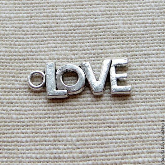 Подвеска  LOVE (ЛЮБОВЬ)