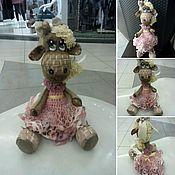 Куклы и игрушки ручной работы. Ярмарка Мастеров - ручная работа Жирафа Сливочка. Handmade.